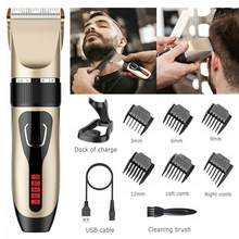 Professional Hair Clippers Elektrische Haar Körper Trimmer Schneiden Maschine Rasiermesser Elektrische Haar Trimmer Clipper Barbershop Heimgebrauch(China)
