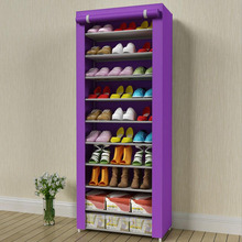 цена Home Furniture Shoe Storage schoenen opbergen Easy Assembly Shoe Organizer Case Shelf Shoes Storage Cabinet онлайн в 2017 году