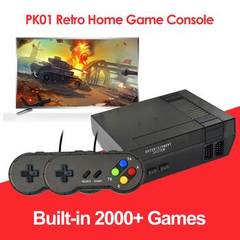 Wbudowany 2000 klasyczny odtwarzacz do gier Retro Mini konsola do gier TV gry wideo obsługa 9Pin Hole Handle wyjście kompatybilne z HDMI tanie i dobre opinie ALLOYSEED CN (pochodzenie) PK01 2279B DDR64