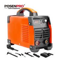 POSENPRO Inverter Arc Welder 250A/300A Welding Machine ABS Handle IGBT IP21S DC Inverter Welder High Efficiency Electric Welder