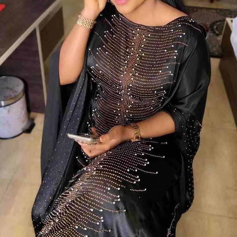 2019 אפריקה בגדים אפריקאי שמלות לנשים מוסלמי ארוך שמלה באיכות גבוהה אורך אופנה אפריקאי שמלה עבור גברת