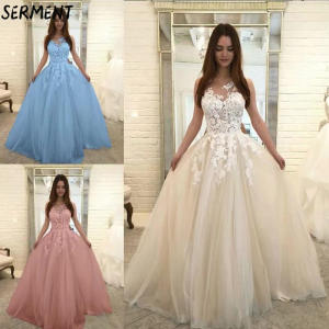 SERMENT Wedding-Dress Off-The-Shoulder Pregnant-Women Lace-Sleeve Simple Summer Autumn