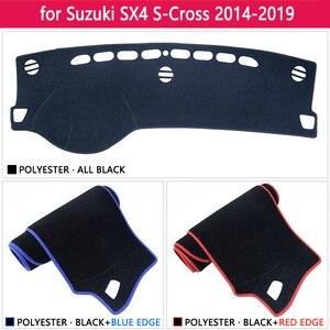 Image 3 - スズキ SX4 S クロス 2014 〜 2019 アンチスリップマットダークマットシェーディングパッド防止サンシェード Dashmat アクセサリーマルチ · SX 4 SX 4 S クロス SCross