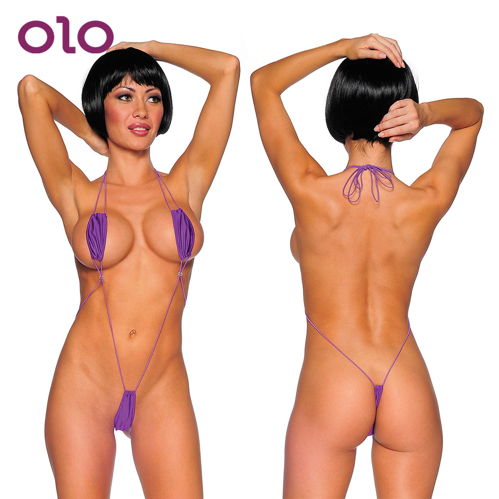 OLO Three Point Costumes Siamese Bodysuits <font><b>Erotic</b></font> Teddies <font><b>Sexy</b></font> <font><b>Lingerie</b></font> <font><b>Erotic</b></font> <font><b>Underwear</b></font> Exotic Apparel image