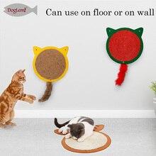 Sisal Pad Cat Scratch Board Protector Furniture Scratching Mat  Toy Carpet Halloween Bat Toys Pets Supplies