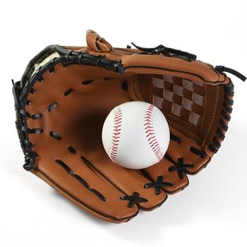 Baseball Gloves New Portable Dark Brown Durable Men Softball Glove Sports Player Preferred 12.5/11.5/10.5 inch