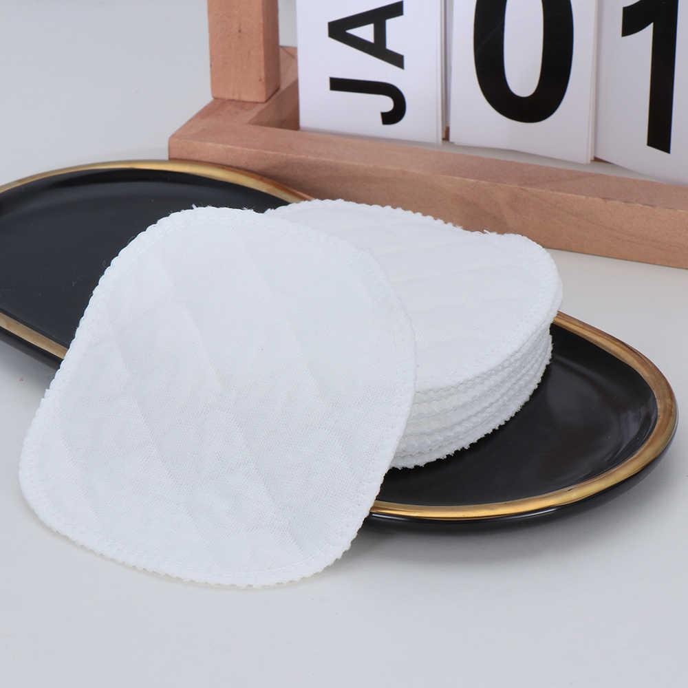 10 قطعة قابل للغسل قابلة لإعادة الاستخدام القطن يشكلون مزيل وسادة للصدر الجلد المطهر السيدات الجمال الرعاية الإناث الجمال يشكلون الرعاية الصحية