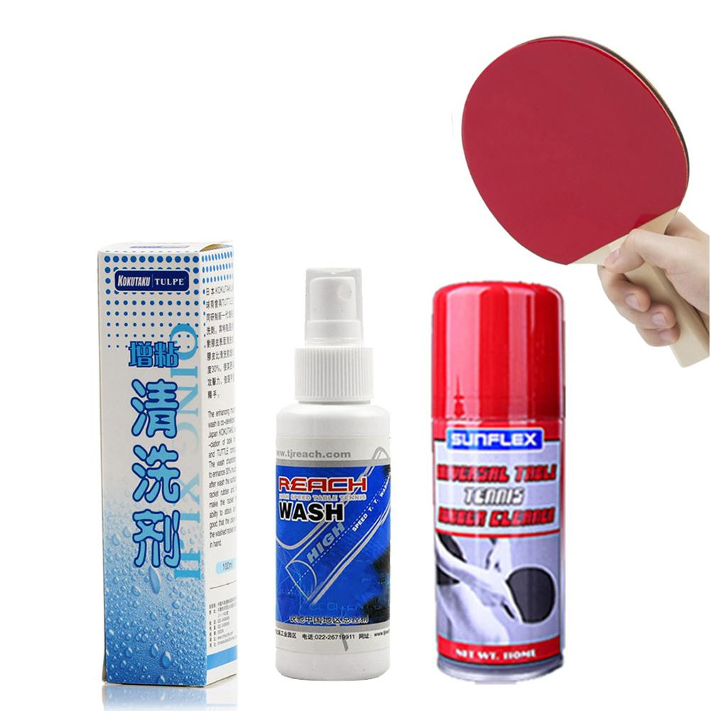 100/110ML Table Tennis Racket Rubber Cleaner Dirt Sweat Removal Anti-mould Professional Care Ping Pong Paddle Cleaner