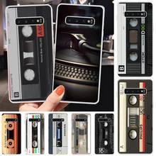Video tape background TPU Soft Phone Case Cover For Samsung S6 S7 S7 edge S8 S8 Plus S9 S9 Plus S10 S10 plus S10 E(lite) medicine nurse doctor dentist soft edge phone cases for samsung s6 edge plus s7 edge s8 s9 s10 plus lite e note8 note9 cover
