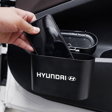 Car Trash Can Storage Box Car Garbage Holder Interior Accessories For Hyundai Sonata Elantra Tucson Creta I30 Ix35 I40 IX20
