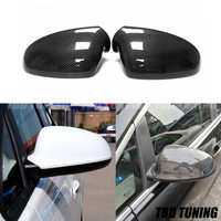 Carbon Fiber Mirror Cover For Opel Astra 2009 2010 2011 2012 2013 2014 2017+ Replacement Rear Side View Mirror Cover