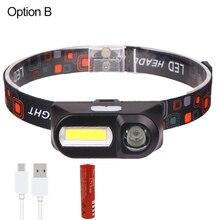 XHP50 Đèn Pin Led Sạc USB Co Giãn Zoom Chống Sốc 18650 Sạc Đèn Pin Từ Tính Mạnh Đuôi Z90 + 1474