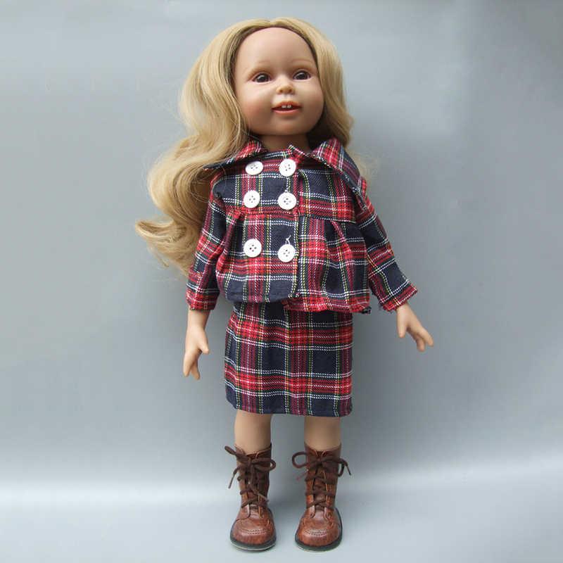 Allaosify 18 inç amerikan kız bebek ayakkabıları bebek botları tıraş bebek ayakkabıları