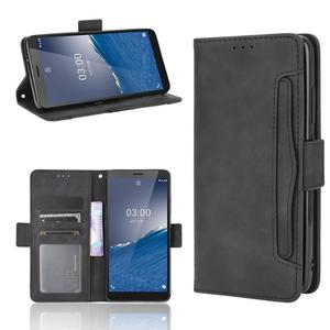 Fashion Leather Flip Phone Case for Nokia C3 / 2.4 N2.4 / 3.4 N3.4 Back Cover with Stand Coque Fundas