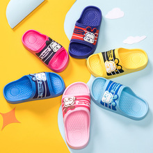 Children Cartoon Slippers Girls boy Summer Beach Sandals Kids Bathroom Flip Flops Toddler Boys Indoor Flip Flops Baby Home Shoes