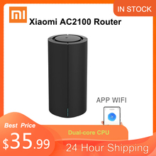 Original Xiaomi AC2100 Router 2033Mbps 4 Antennas 2.4G/5G Dual-Band Full Gigabit Network