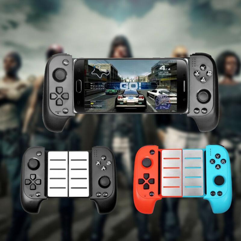 Mando inalámbrico extensible con Bluetooth, controlador de juego para móvil, PUBG, para iOS/Android, juego para teléfono inteligente