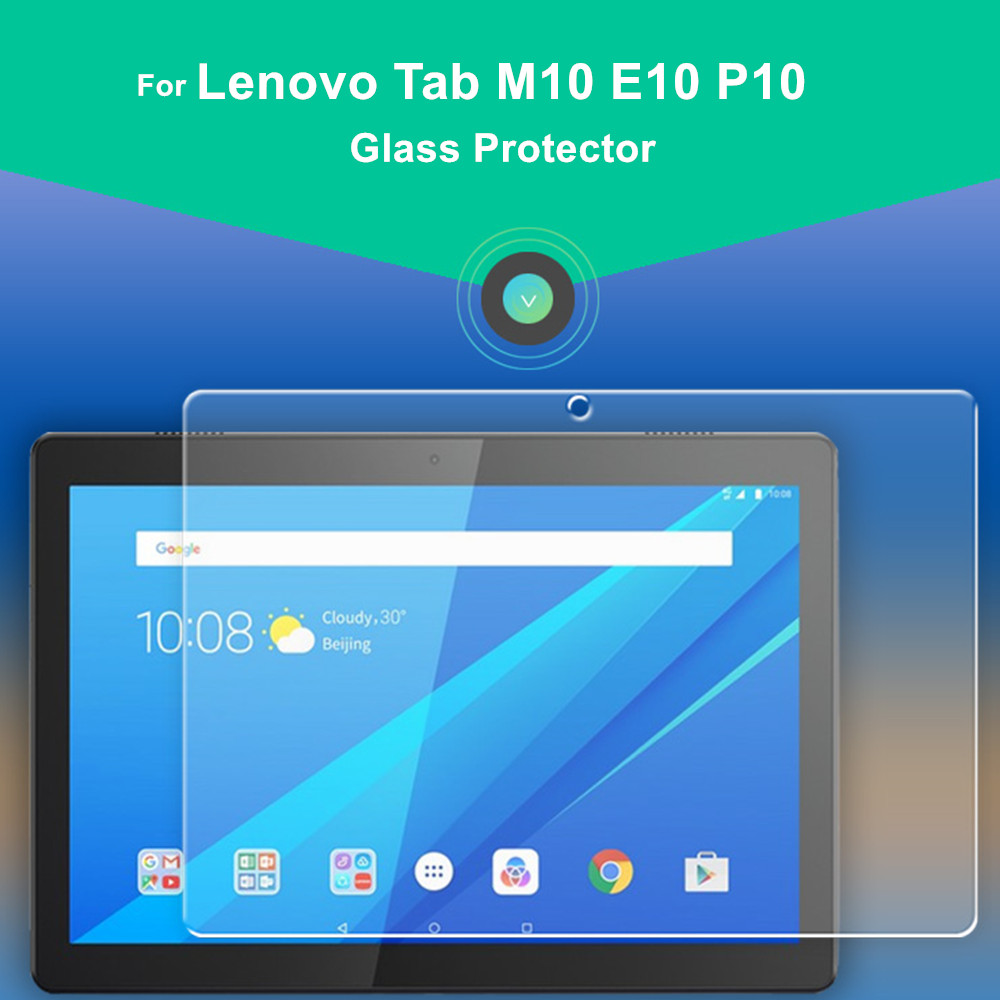 3piece Tempered Glass Protector For Lenovo Tab M10 Screen Protector TB-X605F X605L X505F Protective Film For Lenovo Tab M10