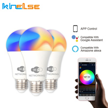 10W WiFi Smart Light Bulb LED Magic Dimmable RGBW Home Light