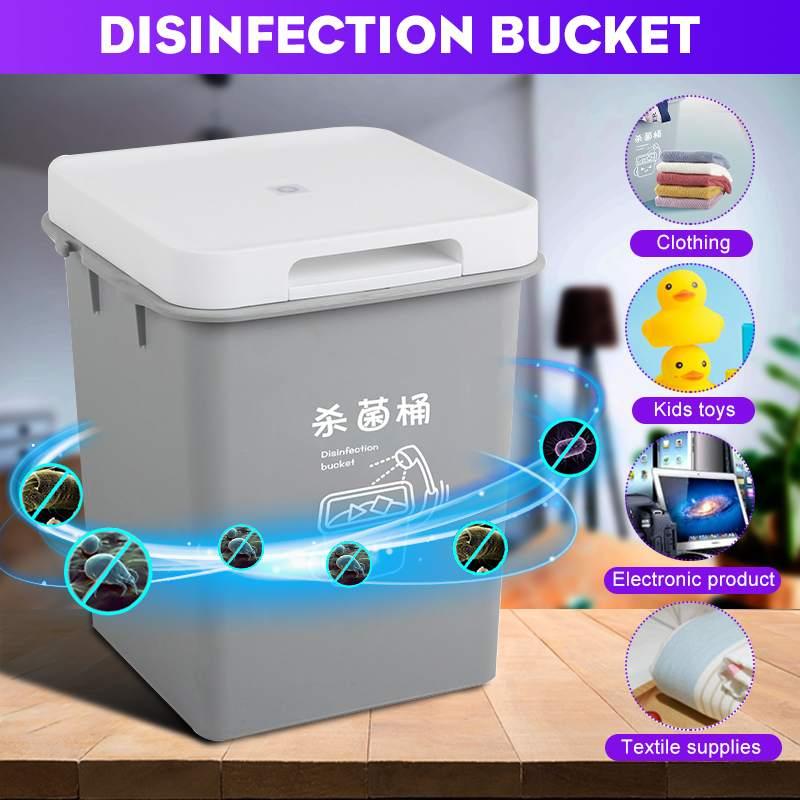 4L USB UV Phone Mask Sterilizer Disinfection Cabinet Ultraviolet Light Sterilization Manicure Tools Home UV Sterilizezation Box