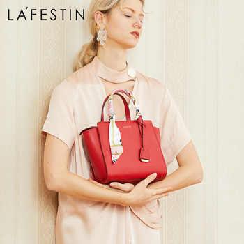 LA FESTIN Luxury woman handbag Leather shoulder bag Fashion messenger bag Women bags designer High capacity - DISCOUNT ITEM  49% OFF All Category