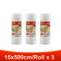 3 rolls 15x500cm-TINTON LIFE vacuum bags for food Fresh Long Keeping 12+15+20+25+28cm*500cm Rolls/Lot bags