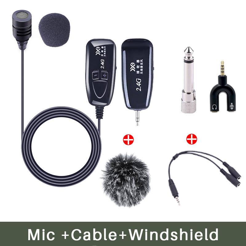 Mic With Windshield