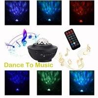 Musik star projektor LED Nacht Licht Fernbedienung 4 farbe Indoor Cosmos Stern Luminaria Projektor Für kind Schlafzimmer|Neuheit Beleuchtung|   -