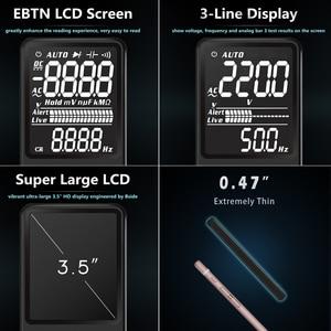 Image 2 - BSIDE Digital Multimeter EBTN Display Analog Tester DC AC Voltmeter Capacitance Diode NCV Ohm Hz Test LED Live Voltage Indicator