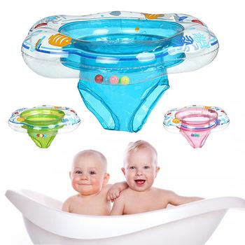 Dla dzieci obręcz do pływania dla dziecka trwałe pływak nadmuchiwany basen pierścień podwójne szczelne data data powrotu (woda bezpieczeństwo zabawki basen akcesoria tanie i dobre opinie Child swimming Pool ring kids baby boia de piscina flotador bebe