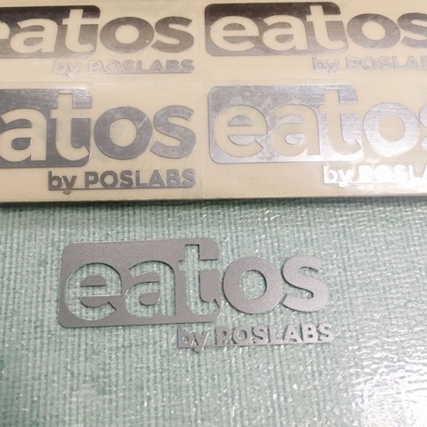do metal electroformed letras electroform nickle stickerpersonalizado stickerdiy decalque