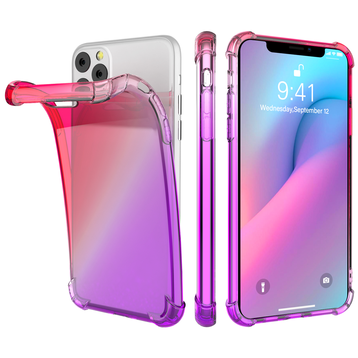 Gradient Soft TPU Case for iPhone 11/11 Pro/11 Pro Max 13