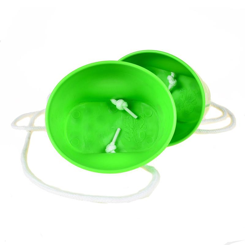 Kuulee 1 Pair Of Child Thickened Plastic Smile Stilts Balance Sense Training Equipment Toys For Kindergarten Outdoor Sports