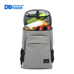 Image 2 - DENUONISS New 30L Soft Cooler Bag 35 Cans 100% Leakproof Cooler Backpack 600D Oxford Waterproof Picnic Thermal Insulated Bag