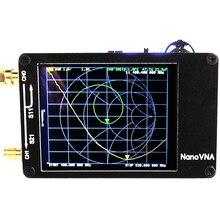NanoVNA векторный сетевой анализатор цифровой сенсорный экран коротковолновой MF HF VHF UHF антенный анализатор стоящая волна с батареей