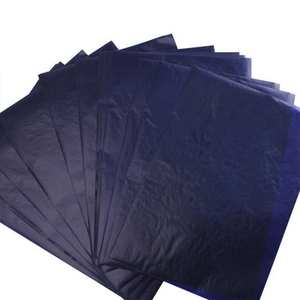 Carbon-Paper Office Thin-Type Blue Paper-Station Copy 50pcs J9P2 48K Double-Sided Finance