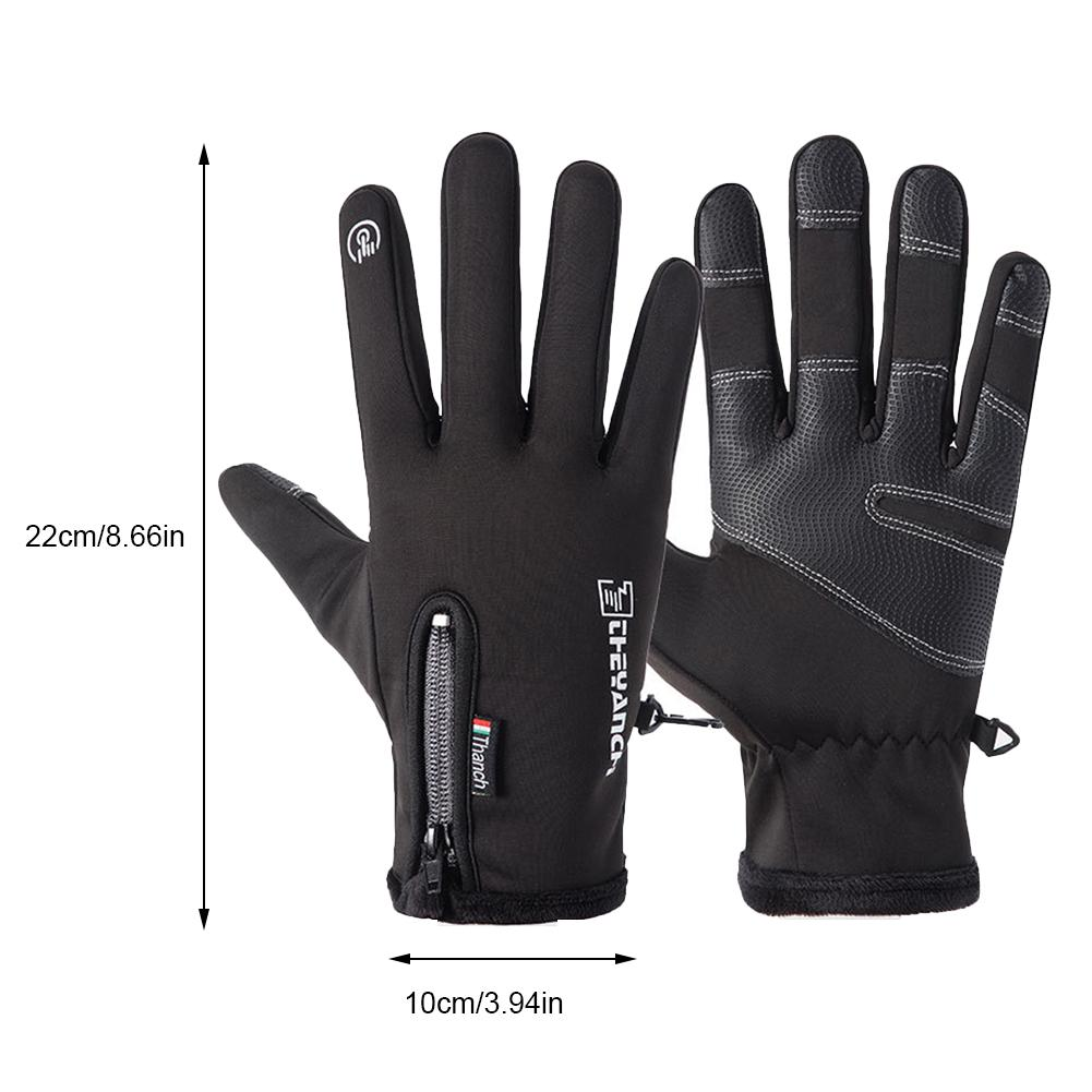 Women Men Winter Touch Screen Gloves Warm Skiing Cycling Texting Thermal Gloves
