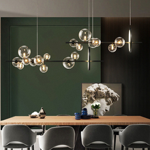 Kitchen Island Lamp Bubble-Chandelier Hanging-Lights Office-Lighting Home-Decoration