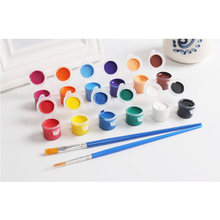 12 цветов профессиональный набор акриловых красок для рисования