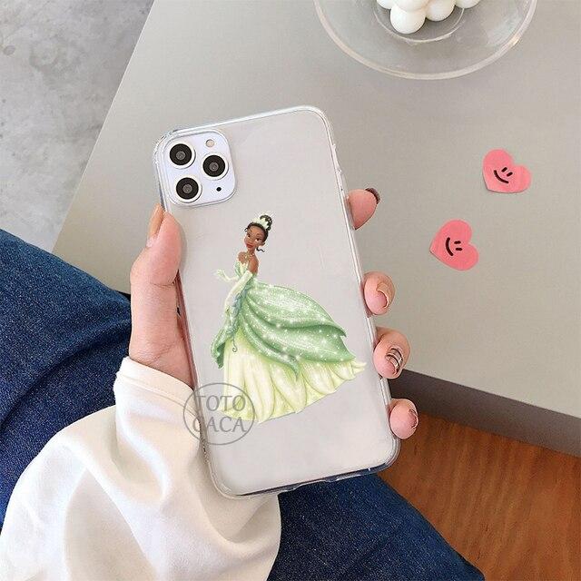 Sirène Princesse Mulan Pour Iphone 11 Pro Max X Xr Xs 7 8 Plus Silicone Souple Tpu Housse de Téléphone Fundas Capa
