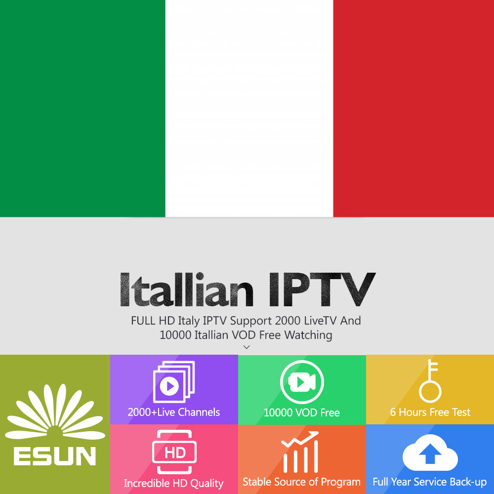 SCISHION V88 Piano Android 7.1 with Europe Albania French Germany Portugal IPTV EX YU XXX 7000+VOD set top box - 2