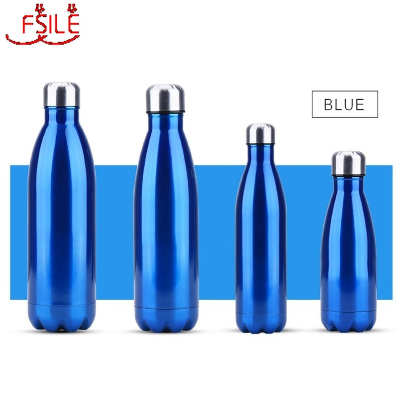 350/500/750/1000ml Double wall Insulated Vacuum Flask Stainless Steel Water Bottle Cola Water Beer Thermos For Sport Bottle|Water Bottles|   - AliExpress