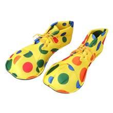 Couverture de chaussures de Clown d'halloween, 1 paire, accessoires de Costumes unisexes, Costume fantaisie pour adulte, fournitures de fête