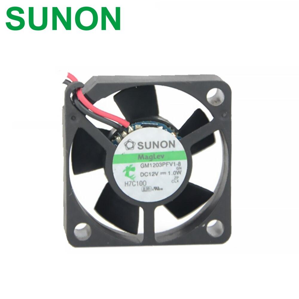 Магнитный Подвесной охлаждающий вентилятор для 3D-принтера Sunon, 12 В, 1,0 Вт, 55 см, 2 линии, 3010 дюйма