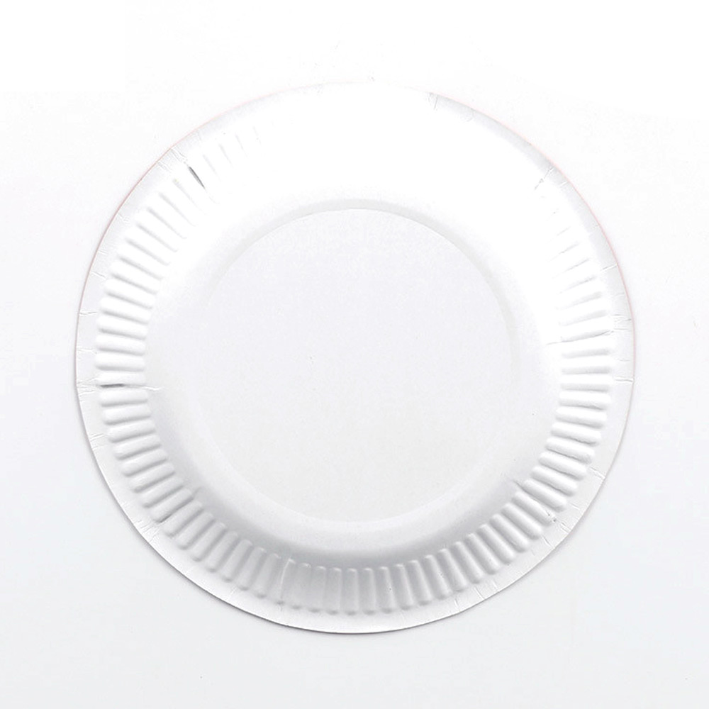 20 x WHITE PLASTIC PLATES 18cm WEDDING BIRTHDAY TABLEWARE PARTY DISPOSABLES NEW