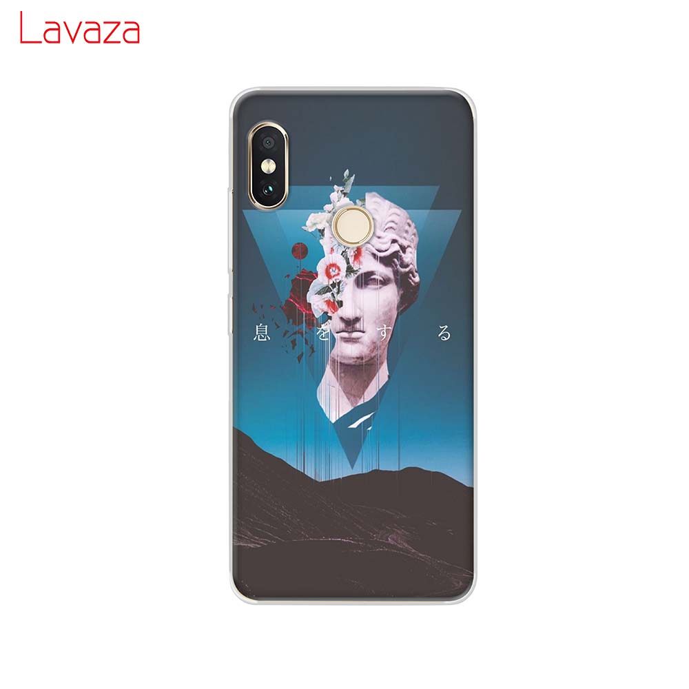 Lavaza Vintage Plaster Statue David Art Printing Hard Case for Huawei Honor P smart Z Plus P20Lite Y9 5i 20 9x Pro view 20 in Half wrapped Cases from Cellphones Telecommunications