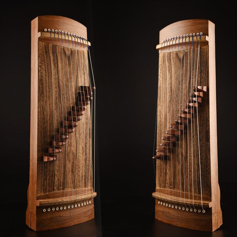 14-string Small Guzheng Musical Instrument Small Portable Mini 70CM Half Guzheng Beginner Children Guzheng