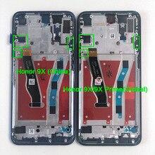 """6.59 """"ban đầu Cho Huawei Honor 9X Trung Quốc HLK AL00 MÀN HÌNH Hiển Thị LCD Khung Màn Hình + Cảm Ứng Bộ Số Hóa Cho Danh Dự 9X cao cấp Toàn Cầu"""