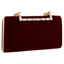 Flannelette Clutch Bag Elegant Luxury Women Bag