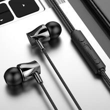 Olhveitra In-Ohr Headset Gamer Verdrahtete Kopfhörer Für iPhone Android PC 3,5mm Ohrhörer Sport Stereo Auriculares Freisprecheinrichtung Mit mic